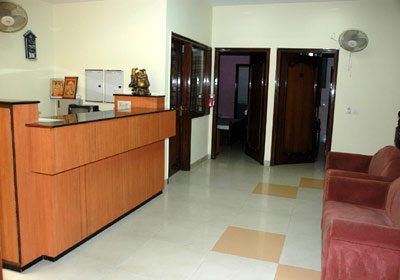Reception, Hotel D.R. International
